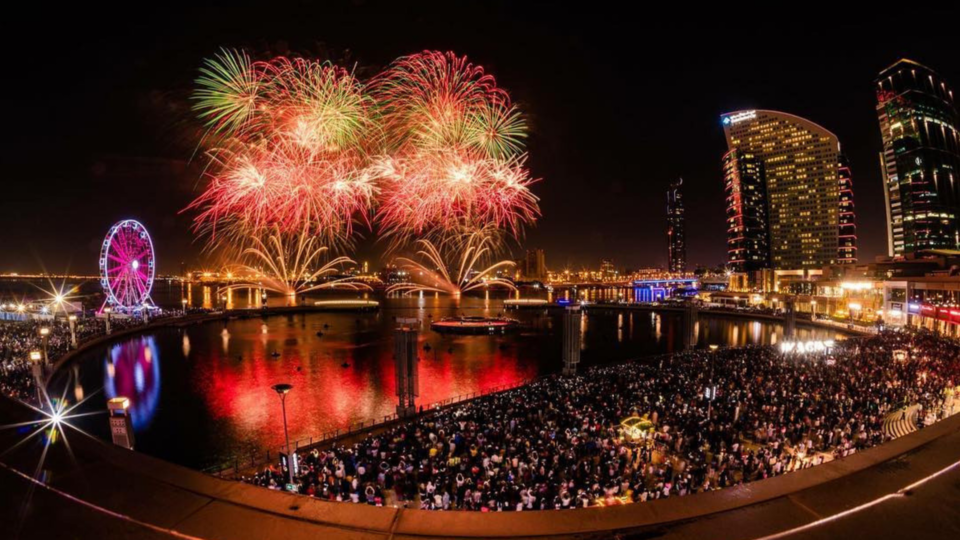 9 Spectacular New Year's Eve Firework Displays In The UAE