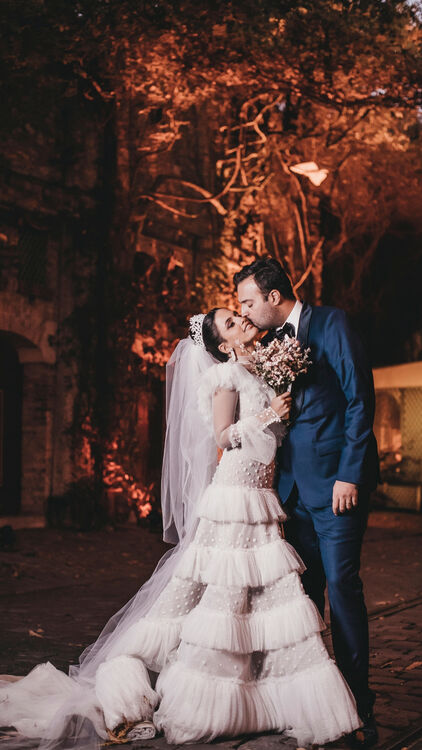 Pictures: All The Snaps You Didn't See From Andrea Wazen's Parisian Wedding