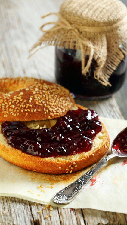 Bagel and Jam