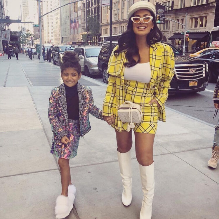 22 Times Celebrity Parents And Their Kids Dressed Like Twins