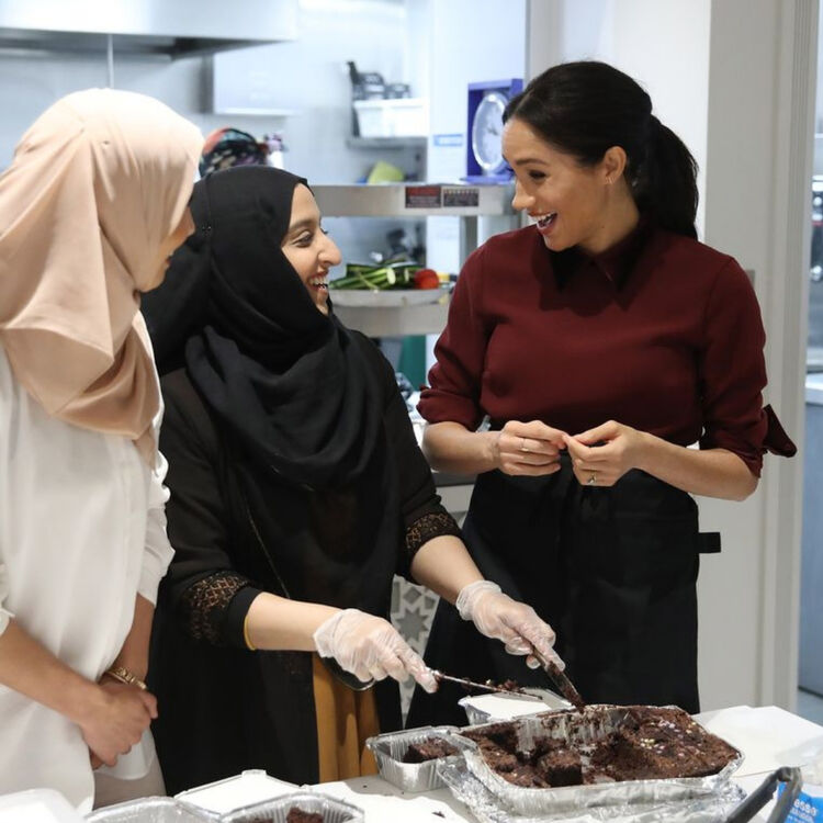 Meghan Markle at Hubb Community