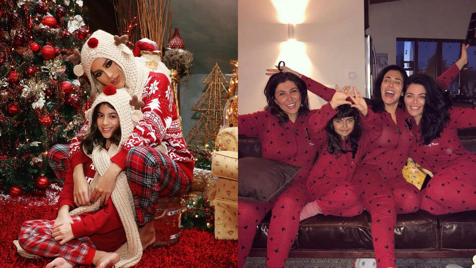 The Best Celeb Holiday Instagrams Of 2018