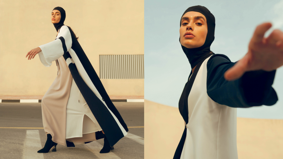 Noor The Label's New Capsule Collection Makes Space For Arab Futurism In Fashion