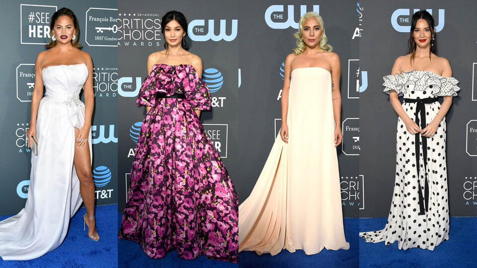 The Must-See Looks From The 2019 Critics' Choice Awards