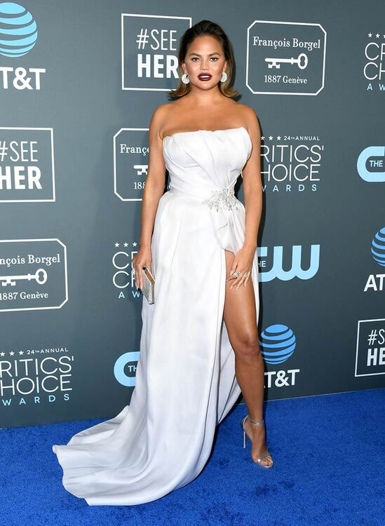 Here's Where You Recognise Chrissy Teigen's Critics' Choice Awards Dress From