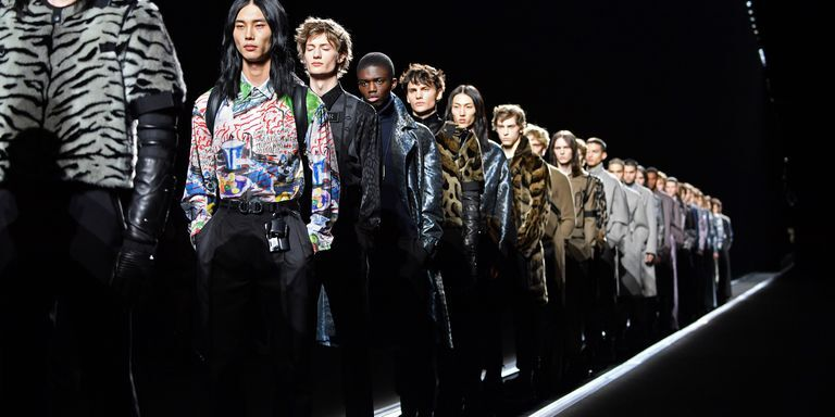 Models Stood On A Conveyor Belt Instead Of Walking The Runway At Dior Men's