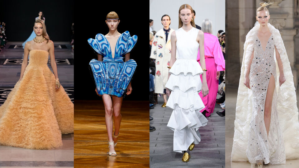 All The Highlights From Day One Of Paris Haute Couture Week