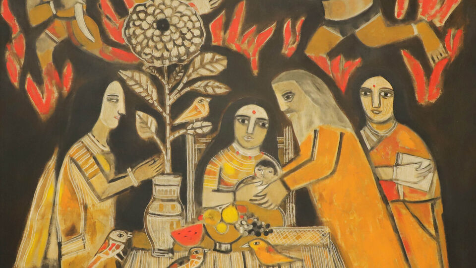 Indian art fair