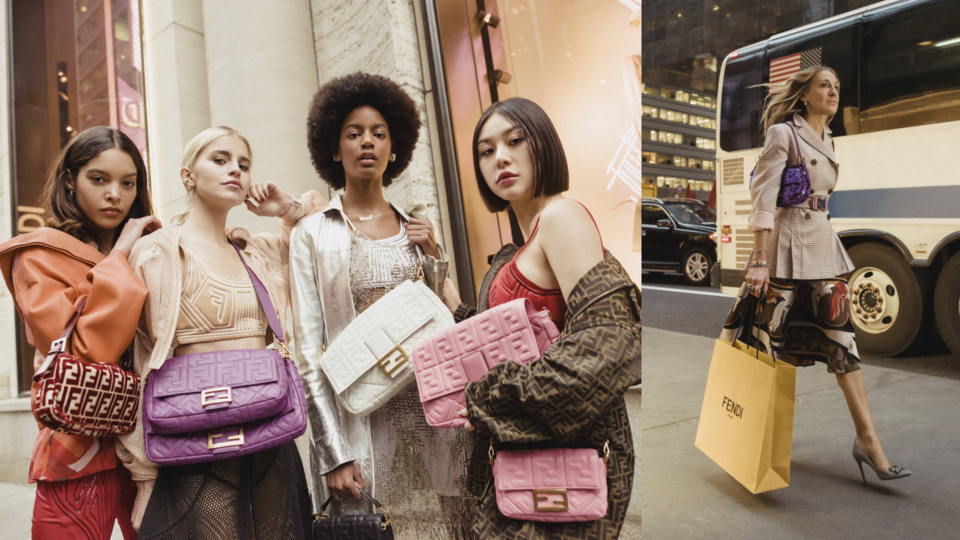 Carrie Bradshaw's Iconic Fendi Baguette Bag Is Back And Better Than Ever