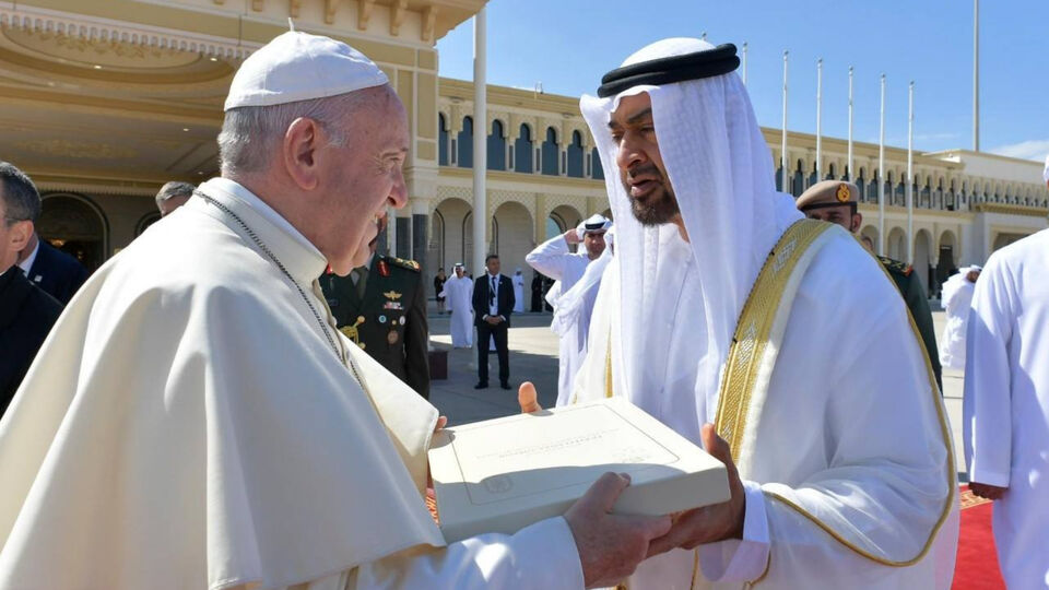 Pictures: Inside The Pope's First Visit To Abu Dhabi