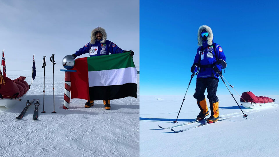 Abdullah Al-Ahbabi Becomes The Youngest Emirati To Conquer North And South Pole