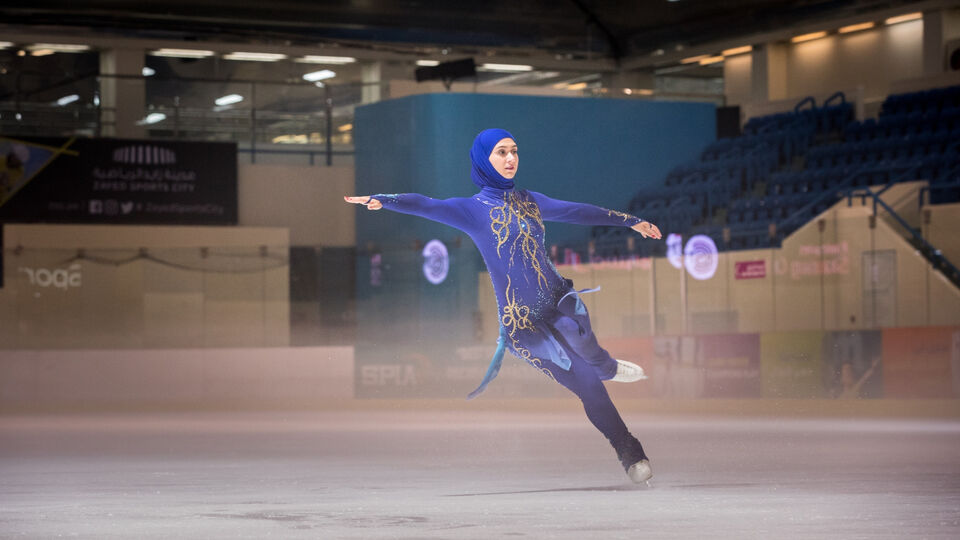 Emirati Figure Skater Zahra Lari Set To Represent The UAE Again In The Hopes Of Qualifying For Winter Olympics