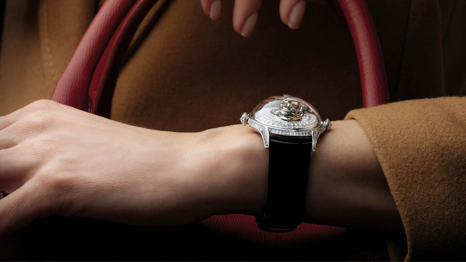 MB&F Just Released Their First Ladies' Watch And It Was Designed To Represent Feminine Energy