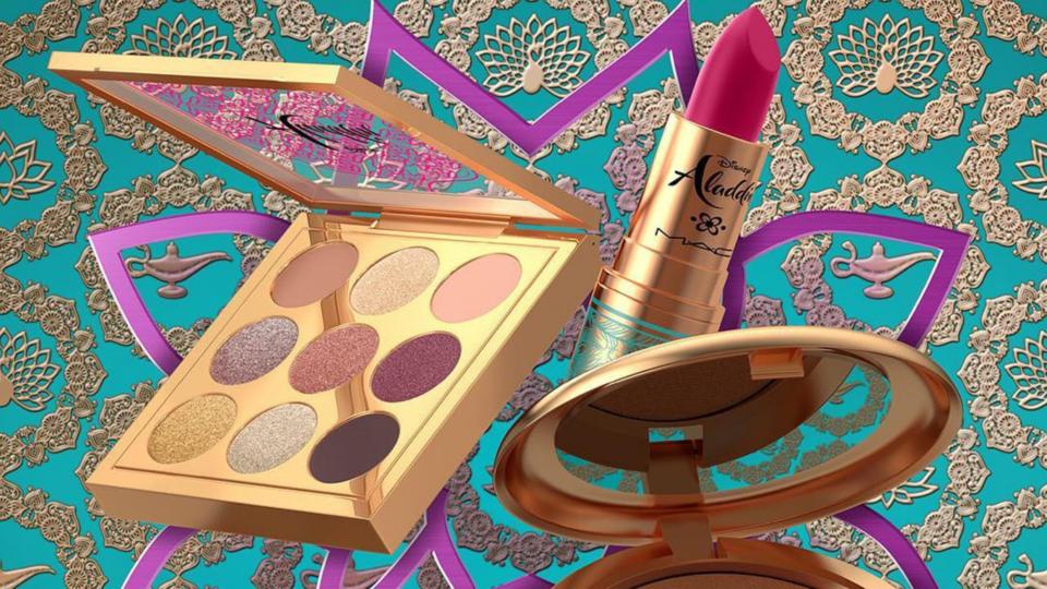 MAC Unveils An 'Aladdin'-Themed Makeup Collection