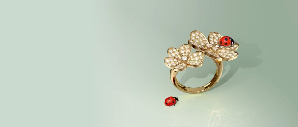 Van Cleef & Arpels' Frivole Collection Provides The Perfect Mother's Day Favourites