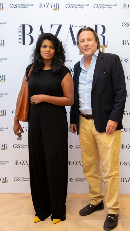 Pictures: Harper's Bazaar Art Celebrates Dubai Art Season With An Intimate Lunch