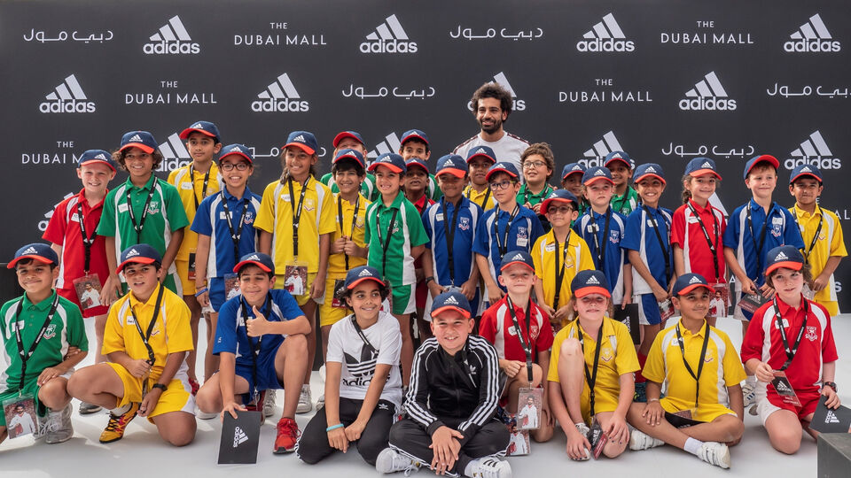 Mo Salah Just Hosted A Penalty Shoot-Out At A Dubai School And It's The Sweetest Thing We've Seen All Year