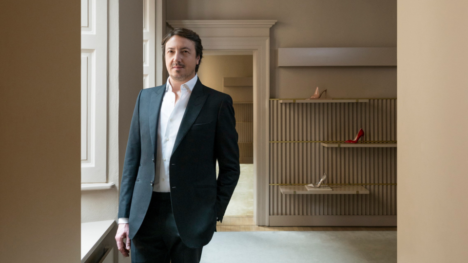 Interview: Gianvito Rossi On Stilettos, Starting Out In Fashion Design And His Exclusive Middle East Capsule Collection
