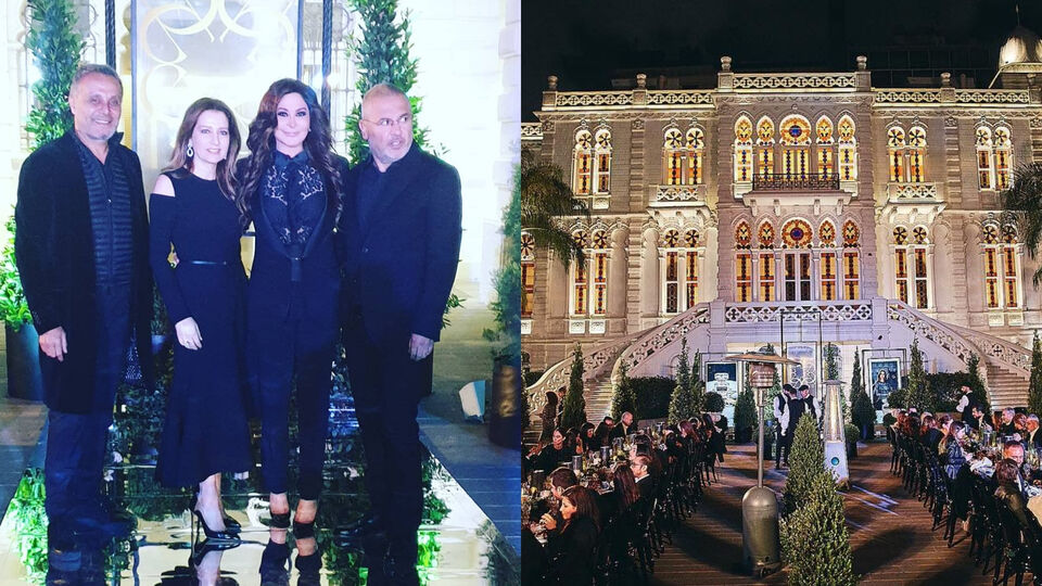 Elie Saab Celebrates Launch Of New Fragrance In Beirut With A Star-Studded Event
