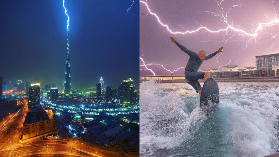 7 Epic Photos That Prove Nowhere Does A Lightning Storm Like The UAE