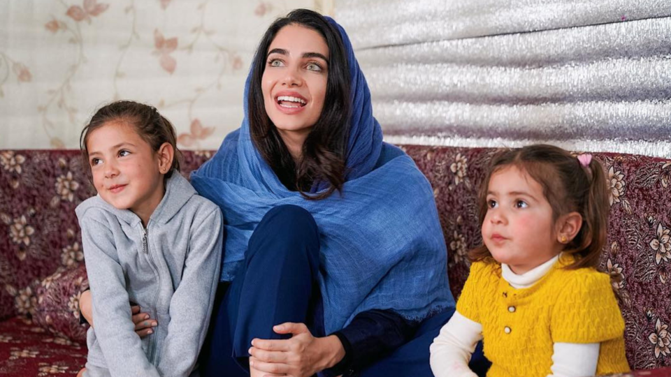 Inside Jessica Kahawaty's Visit To The Refugee Camp In Jordan