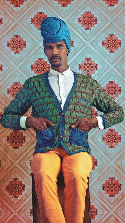 Transforming A Colonial Past: Senegalese Artist Omar Viktor's Portraits Capture A New African Narrative