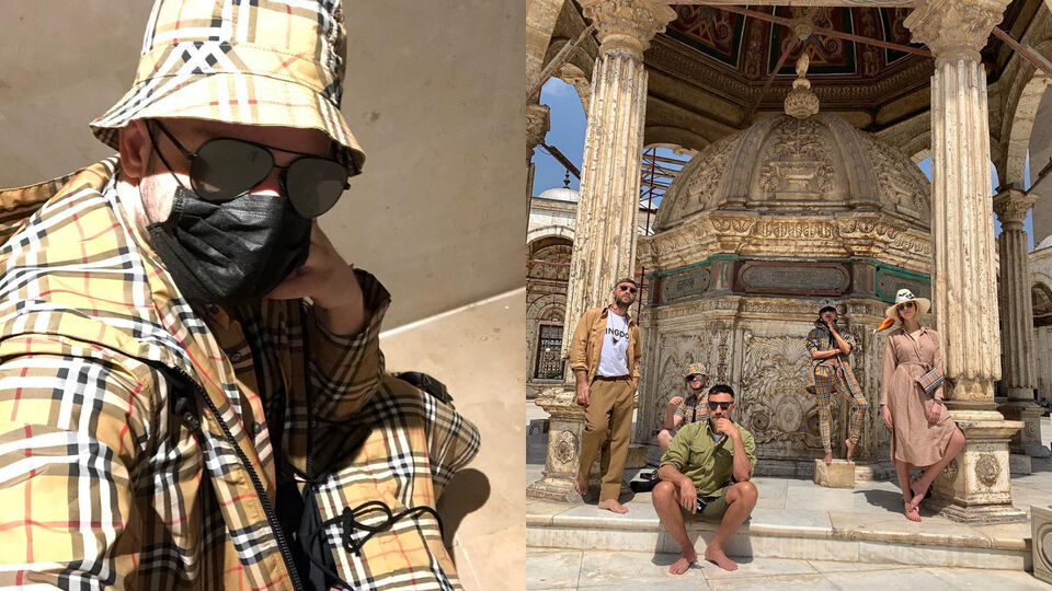 Burberry Takes Egypt: Inside Riccardo Tisci's Egyptian Holiday