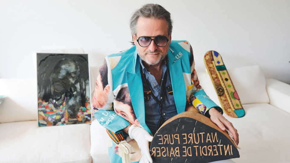 The Collector:  David Brolliet on Collecting African and Middle Eastern Art