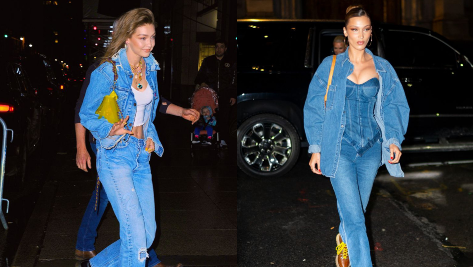 Gigi Hadid's Birthday Party Was An Absolute Denim Dream