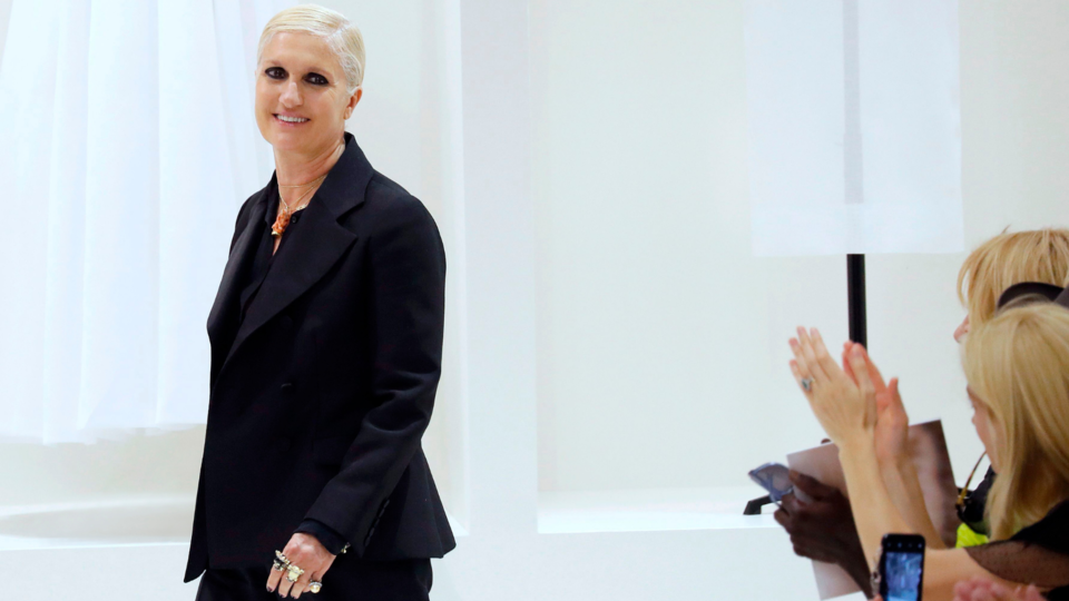 Interview: Maria Grazia Chiuri On Redefining The Codes Of Feminism, Femininity And Freedom