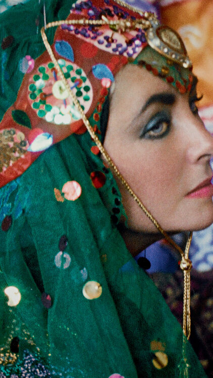 Elizabeth Taylor Masterpiece By Iranian Photographer Firooz Zahedi Sold For Dhs 65,728 At Sotheby's Auction