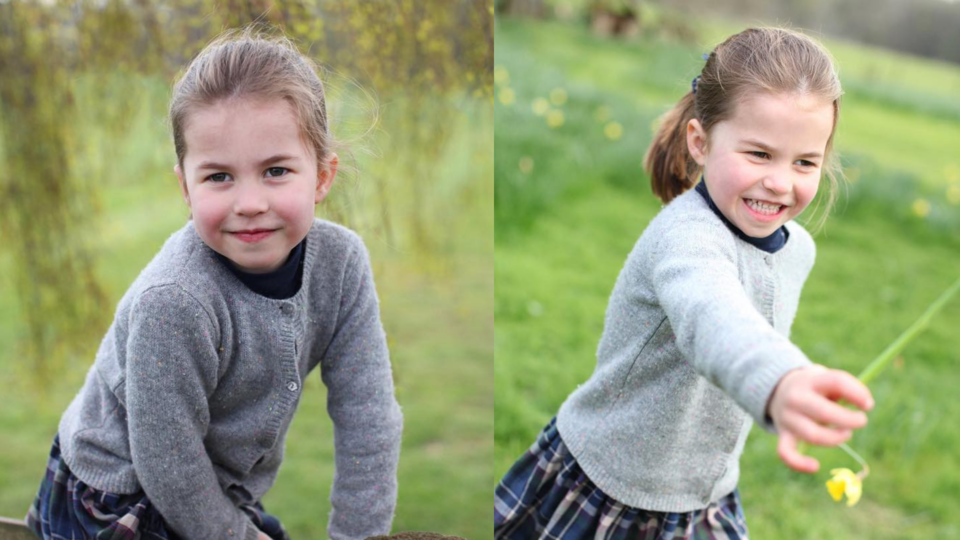 Kensington Palace Releases The Cutest Photos Of Princess Charlotte On Her Birthday