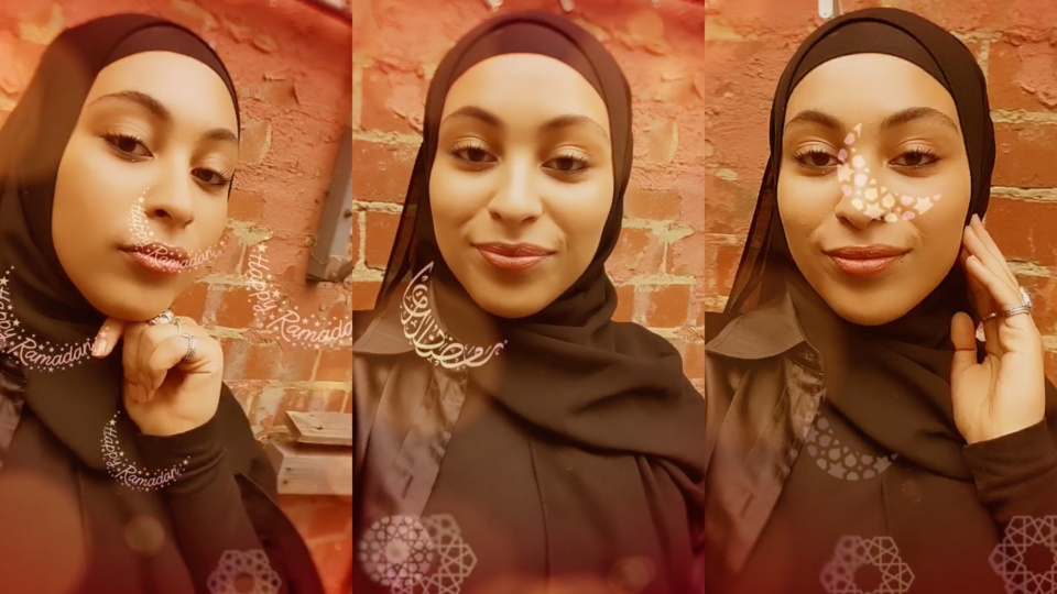 Instagram Just Launched It's First Ever Ramadan Face Filter