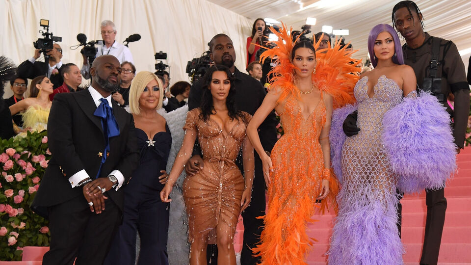 A Closer Look At What The Kardashians Wore At The 2019 Met Gala