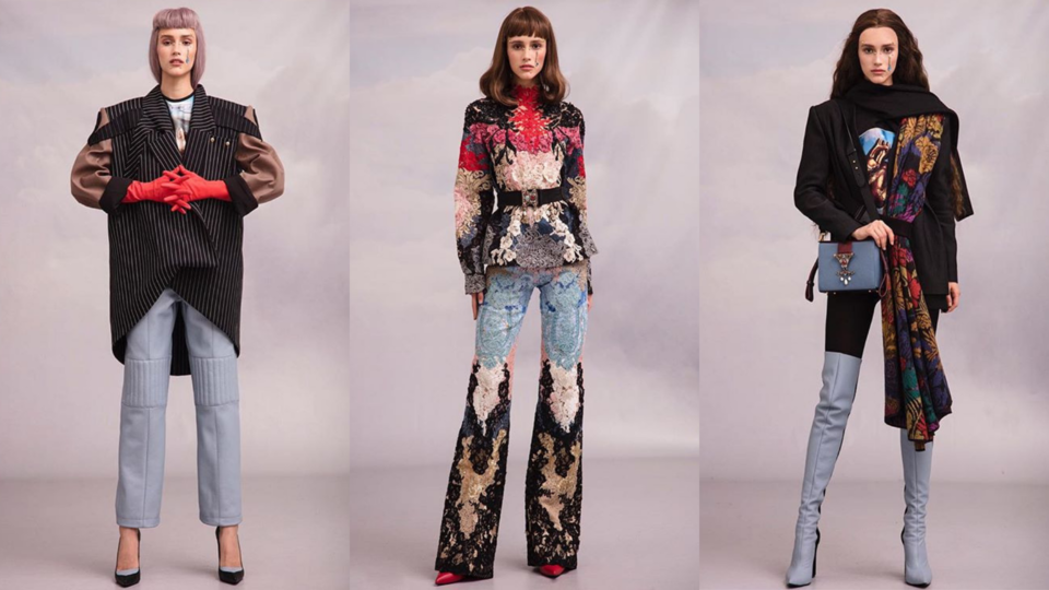 Lebanese Designer Hussein Bazaza Launches His Autumn/Winter 2019 Collection at Beirut's Grand Factory