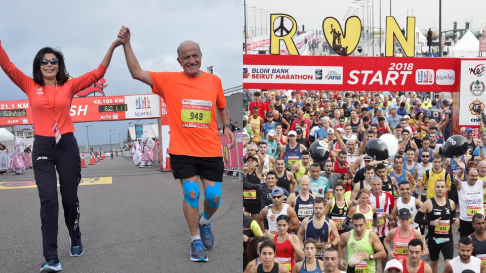 How May El Khalil Brought The Beirut Marathon And Hope To Post-War Lebanon