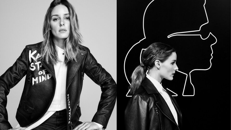 Karl Lagerfeld Styled By Olivia Palermo – The Countdown Is On