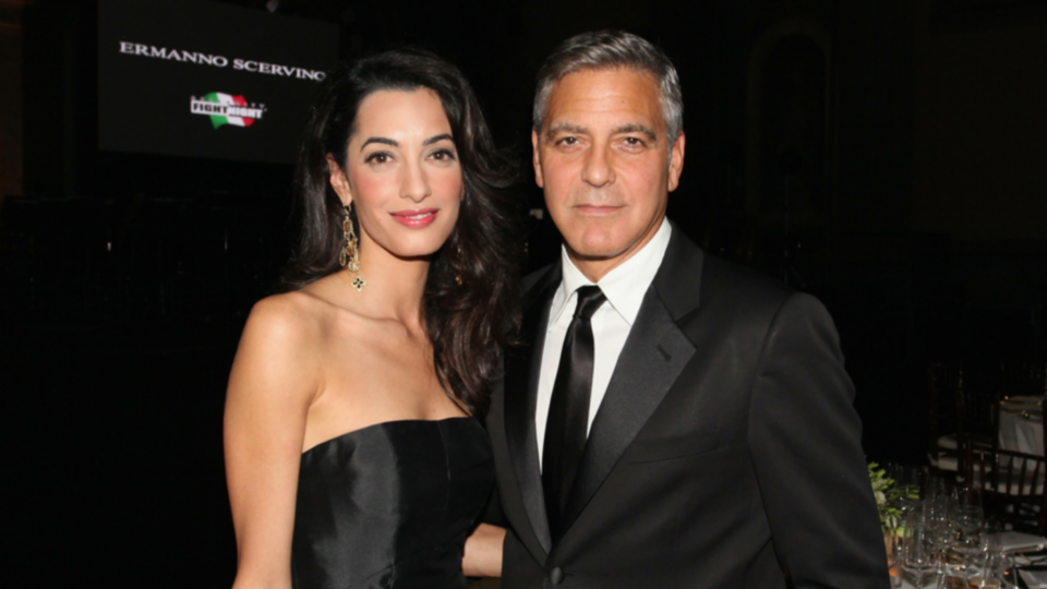 Here's How You Can Dine With Amal and George Clooney