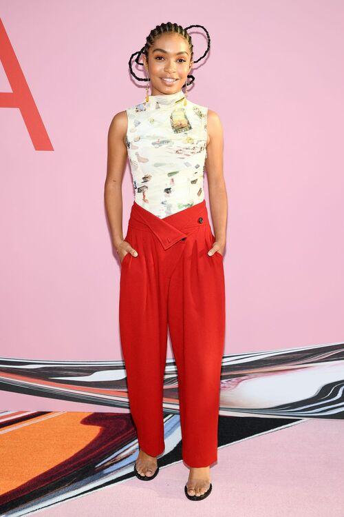 Former BAZAAR Cover Star Yara Shahidi Stuns On Her First Ever CFDA Awards Red Carpet