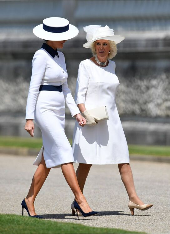 15 Pictures Of Trump's State Visit To Meet Queen Elizabeth That Have Everyone Talking