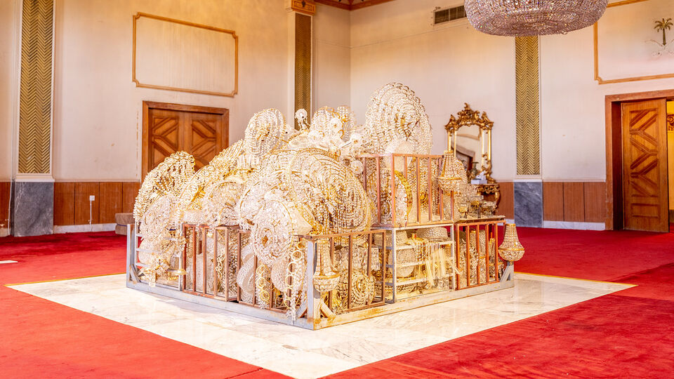 Sultan bin Fahad's The Red Palace Exhibition Travels From Riyadh To Jeddah's Khuzam Palace