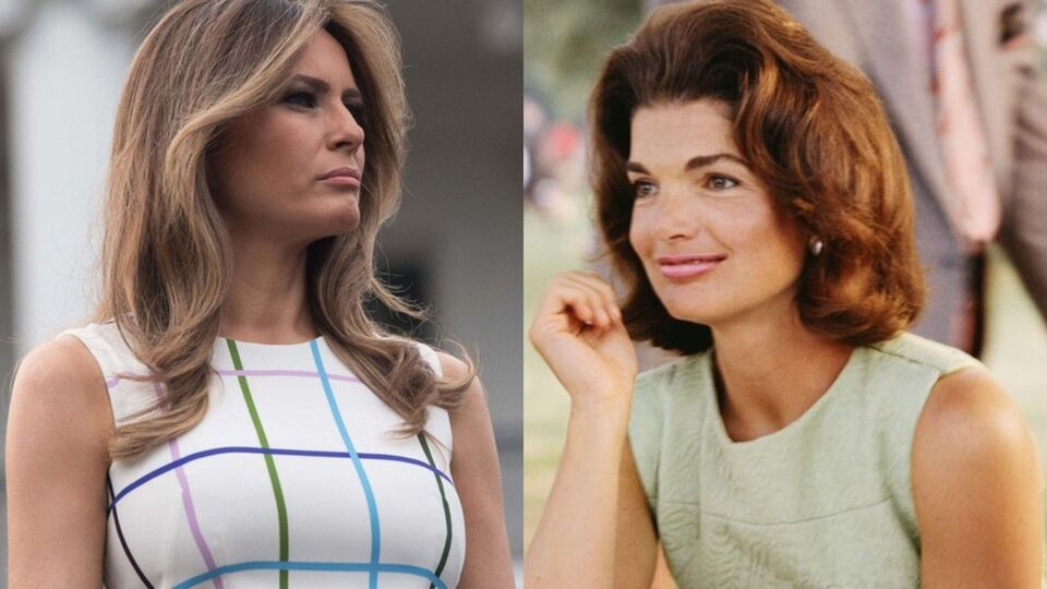 President Trump Says 'Melania T' Is The New Jackie O