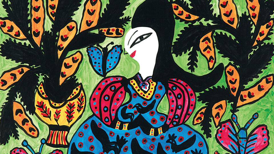 Meet Bazaar Art Cover Star: The Iconic Baya Mahieddine