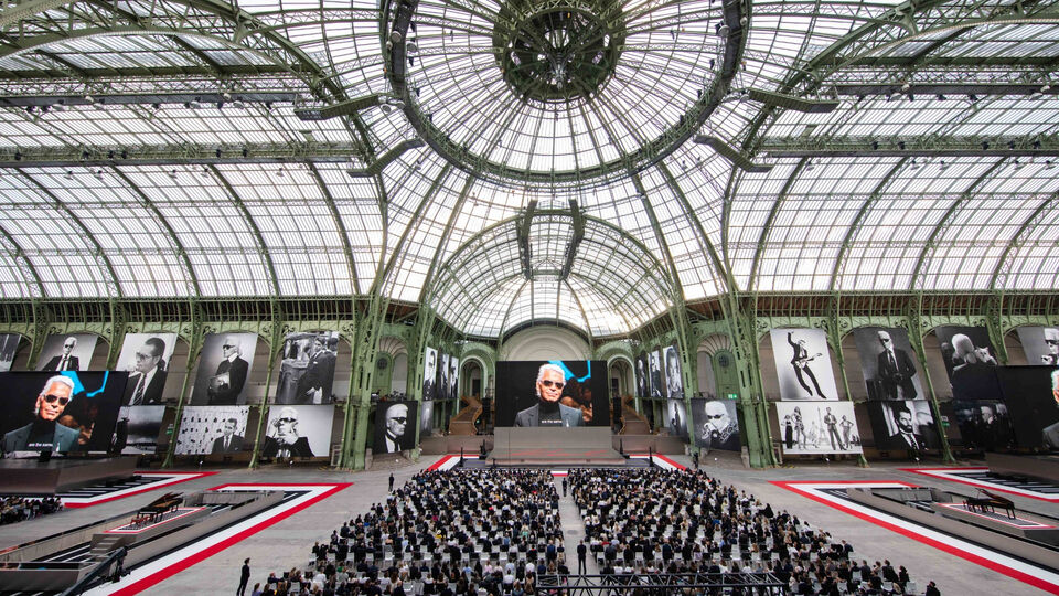 Everything That Went Down At The Karl For Ever Memorial in Paris
