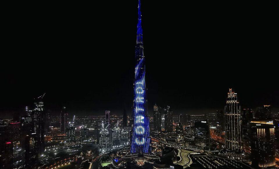 Siemens Home Appliances Lights Up Dubai's Burj Khalifa With Home Connect