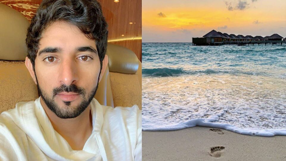 Sheikh Hamdan Took A Trip To The Maldives And The Internet Thinks He's On His Honeymoon