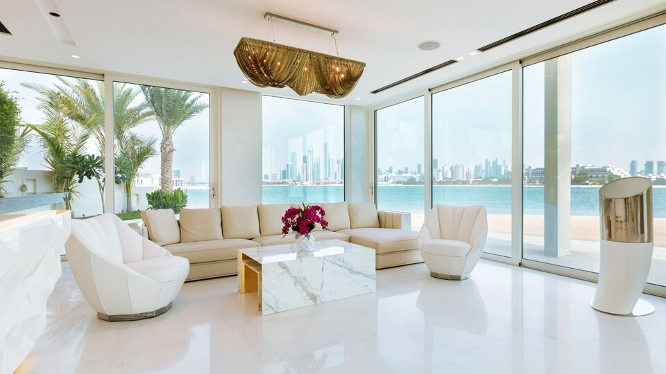 This Dhs130 Beachfront Villa Just Went Up For Sale In The UAE