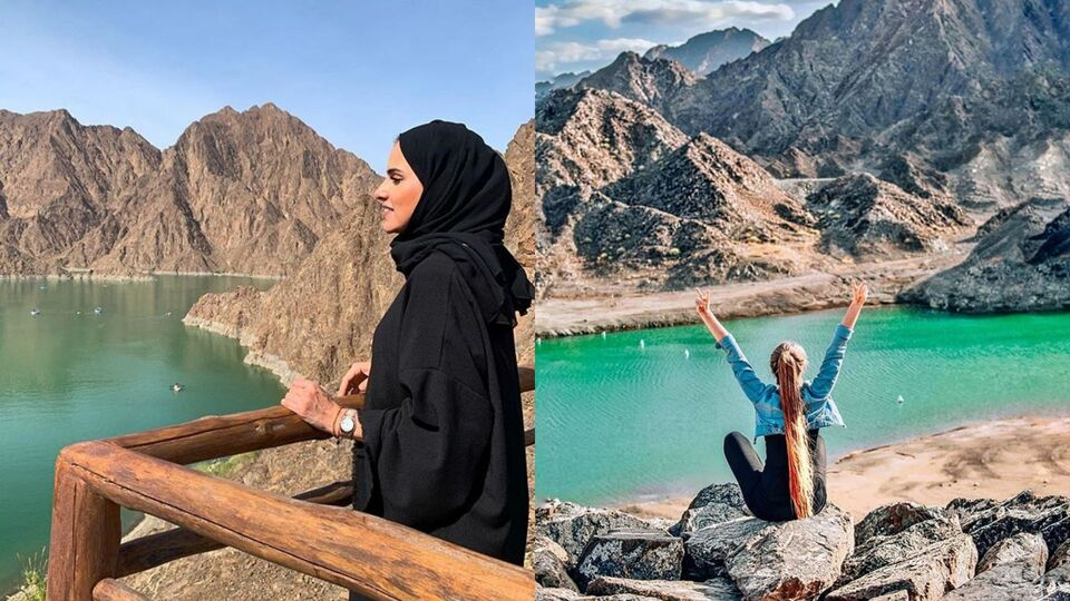 This Emirate Was Just Dubbed One Of The 'Most Instagrammed Road Trips In The World'