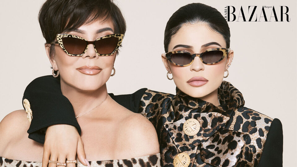 July/August Cover Revealed: Kris And Kylie Jenner