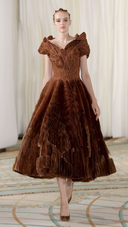 Tony Ward's Haute Couture Autumn/Winter 2019 Collection Was Inspired By Mushrooms